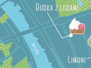 Eisdielen in Warschau