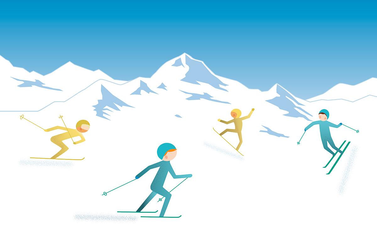 Ski-Icons