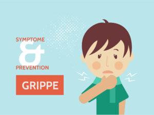 Grippe bei Kinder
